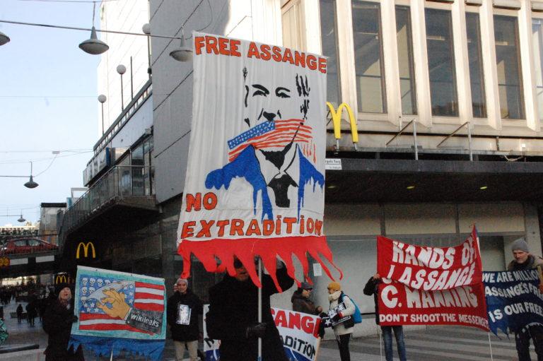 Assange utlämnas inte: Seger för yttrandefrihet!!