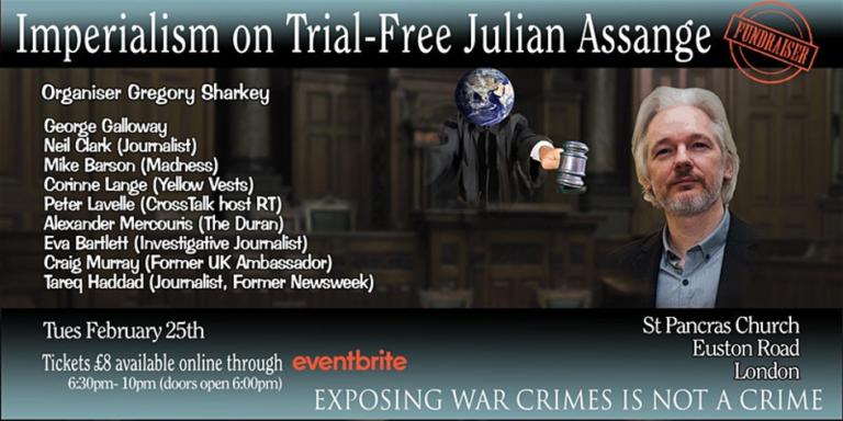 Stödet för Julian Assange ökar nu! Kom med!