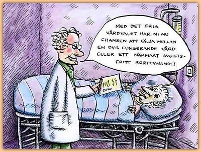 Människor dör i covid i onödan på grund av privatiserad vård