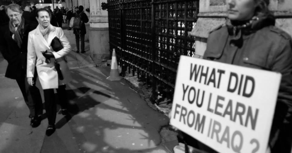 Irakkriget. Foto: Alisdare Hickso. Licens: Flickr.com