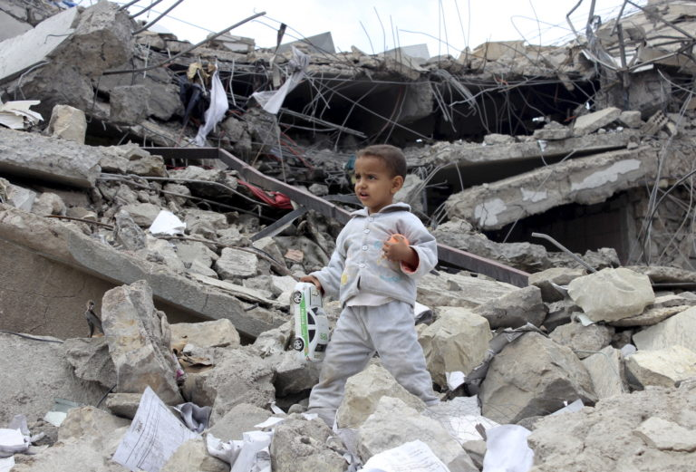 Saudisk olja viktigare för omvärlden än jemeniters blod.