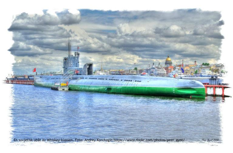 Svensk ubåtsjakt var psykologisk krigföring