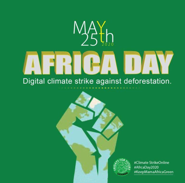 Klimataktion Afrika 25 maj