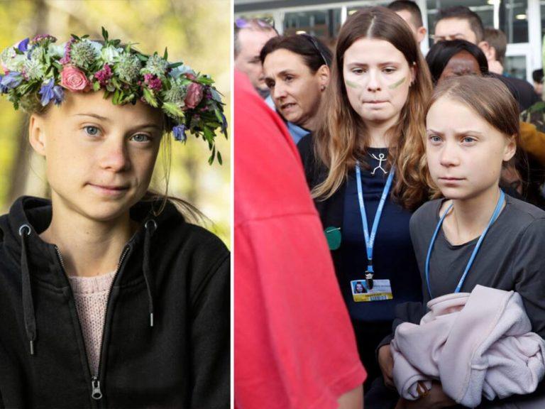 Greta Thunberg möter etablissemanget i USA. Gullar eller kritiserar hon?