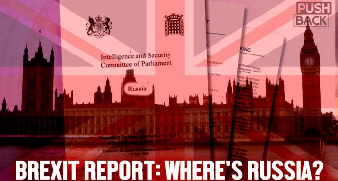 Storbritannien säger att Ryssland inte påverkade Brexit