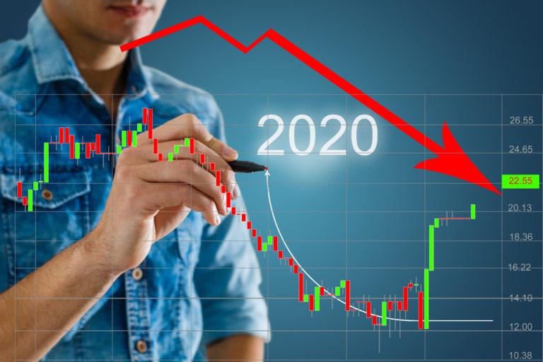 Stor nedgång i ekonomin i USA och EU, uppgång för Kina och stor uppgång för miljardärerna