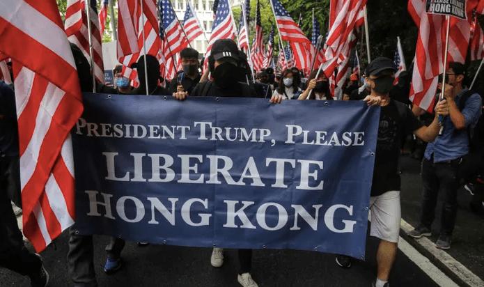 Hur demokratiska var britterna i Hongkong?