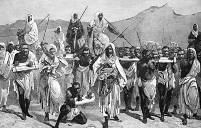 Afrikas roll i slavhandeln
