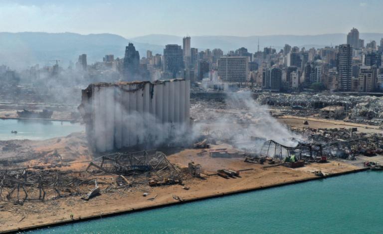 Orsakades explosionen i Beirut av ett nytt minikärnvapen?
