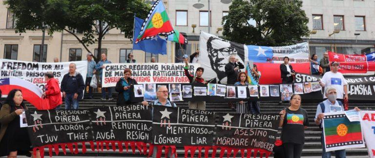 Solidaritet med de politiska fångarna i Chile