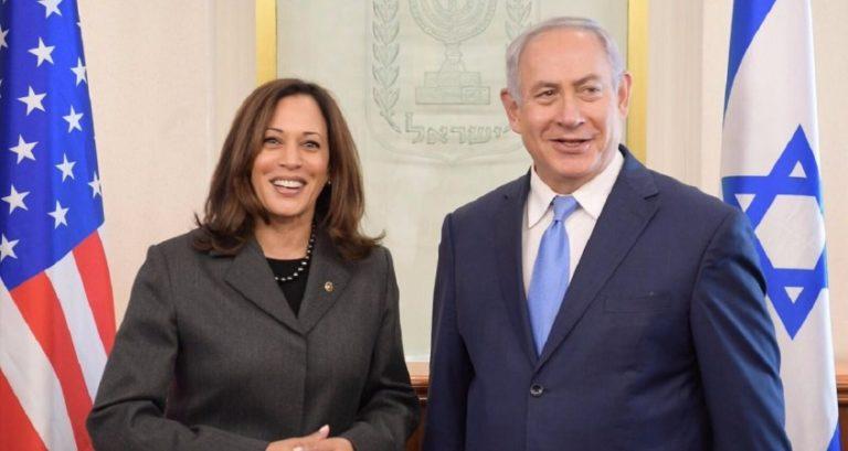 Ligger Kamala Harris till höger om Biden då det gäller Israel?