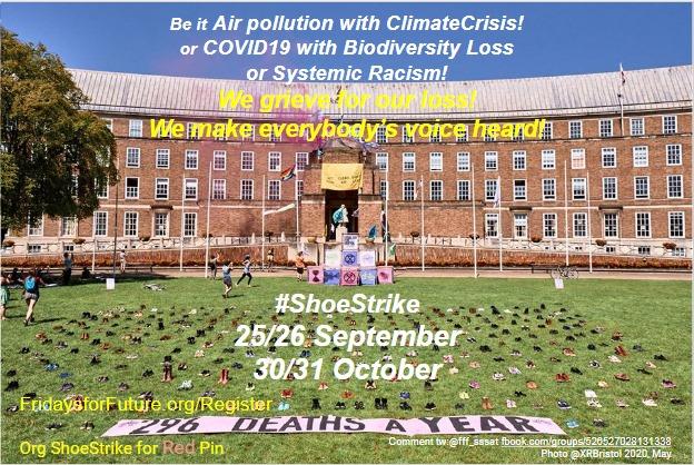 Skostrejk för klimatet!