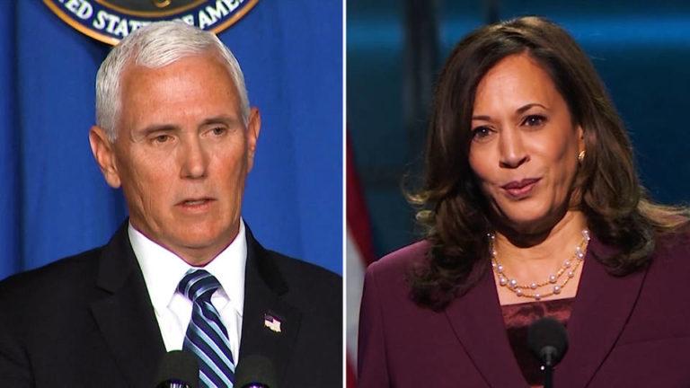 """Vicepresidents-debatten mellan Harris och Pence: USA: s politik är inte """"polariserad"""" utan vilar på en bred överenskommelse. Vilken?"""