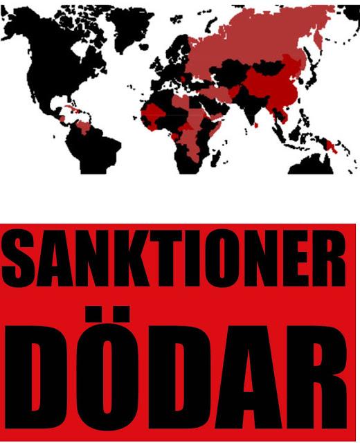 Sanktioner dödar!