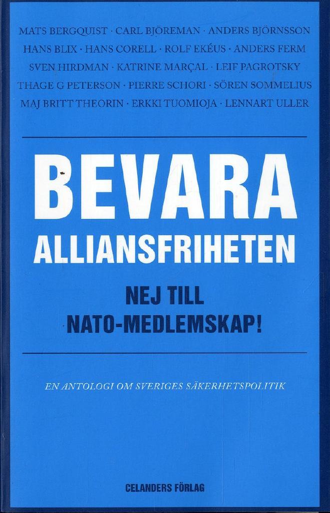 Debatt i DN om Sveriges försvarspolitik