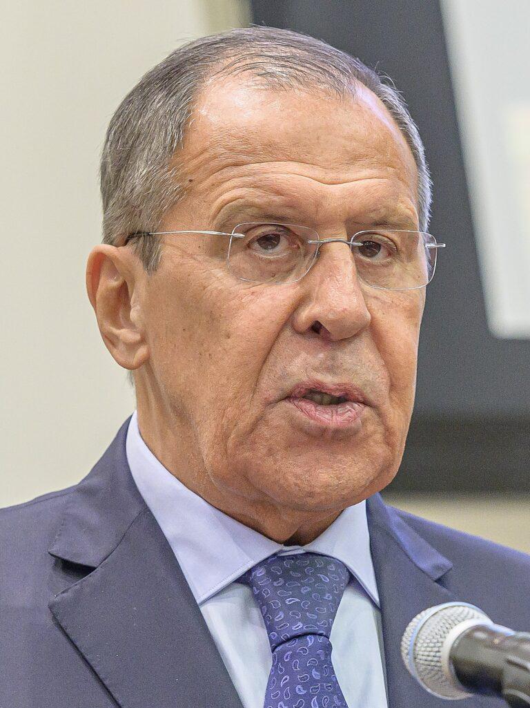 Viktig intervju med utrikesminister Lavrov, Ryssland