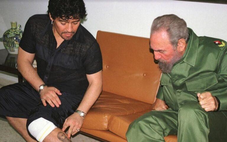 Maradona – en socialistisk fotbollslegend