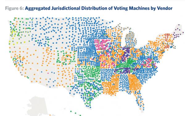 Valfusk i USA? Vad visar röstmaskinerna?