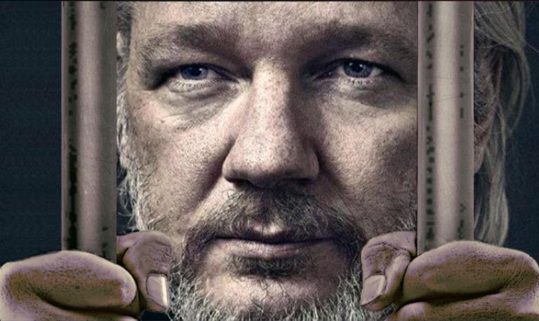 Al Burkes tal på manifestationen 4 januari för Julian Assange på Sergels torg