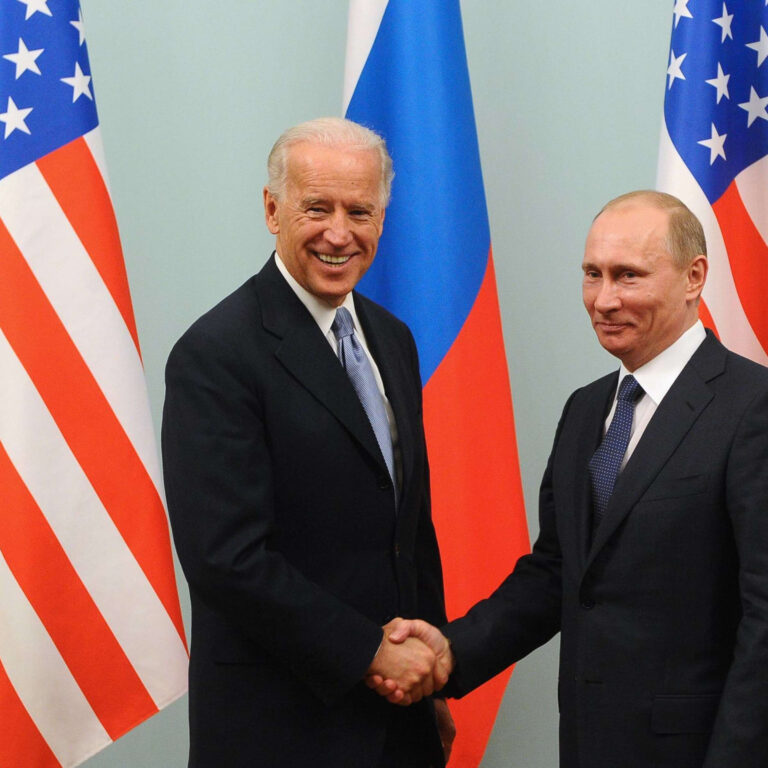 Putin vill röka fredspipa
