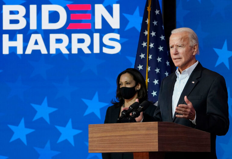 """Vad sa egentligen Biden vid installationen? Söker """"USA:s själ"""". Var hittar man den?"""