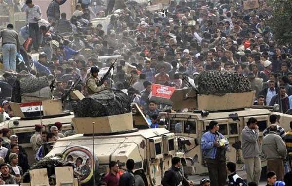 Iraks förstörelse och västmediers roll!