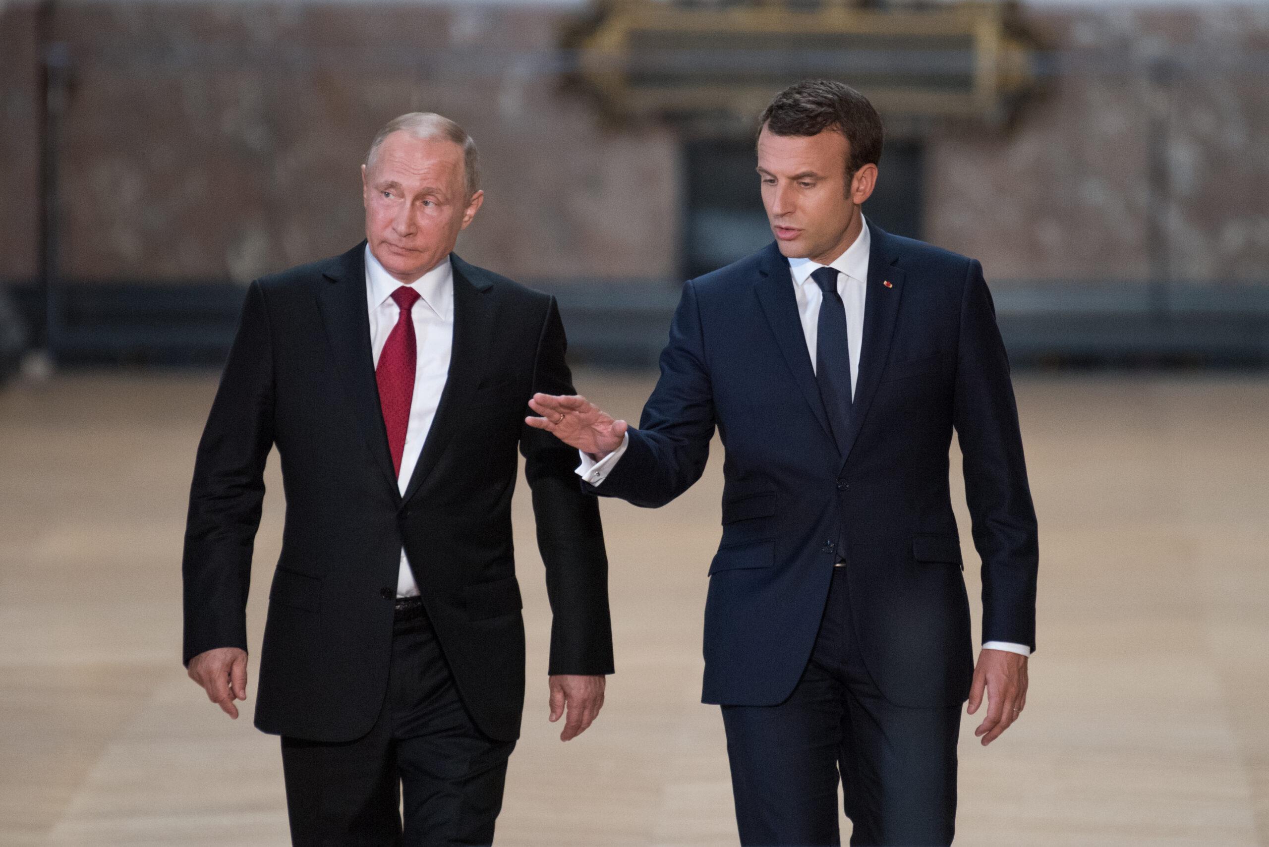 Bättre analys av mötet mellan Macron, Merkel och Putin!?