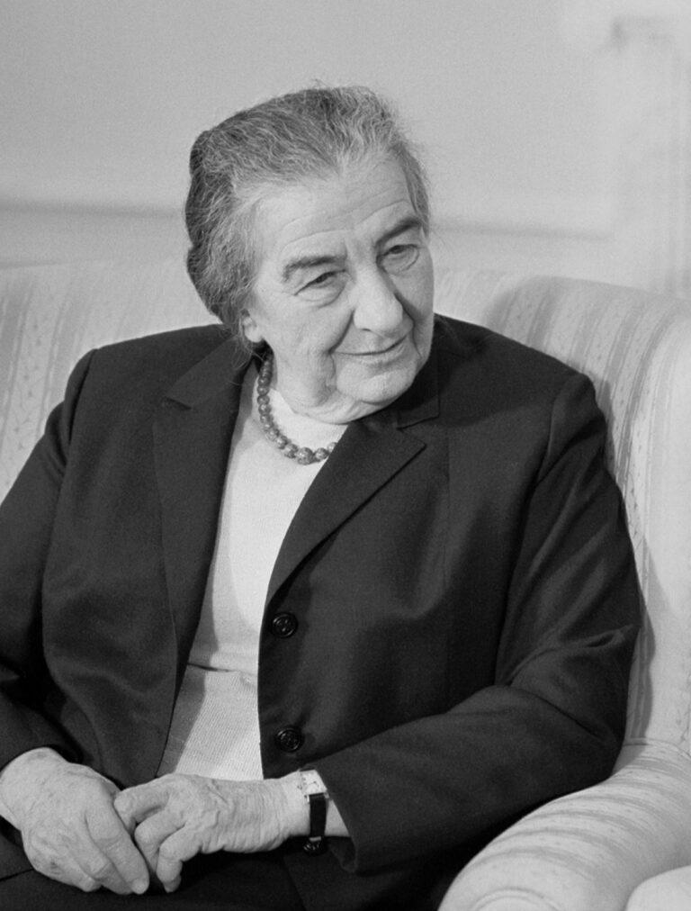 "Israel – Palestina: Premiärminister ""Golda Meirs doktrin"""