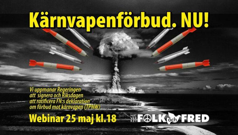 Kärnvapenförbud NU!