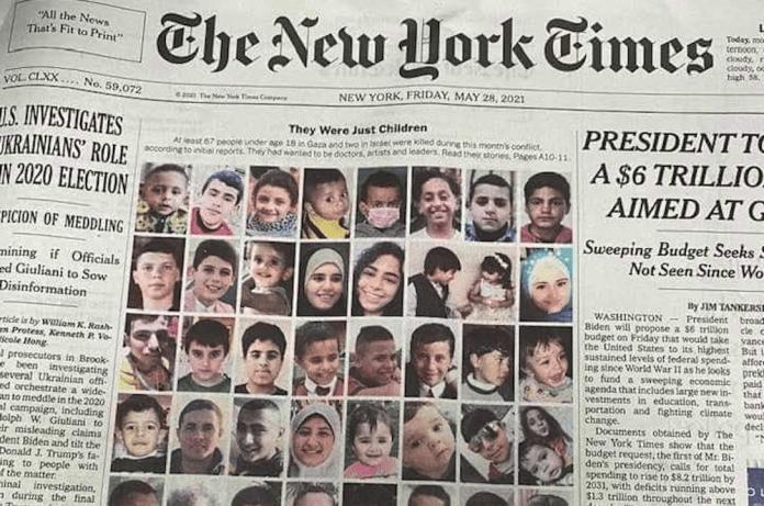 """Israels – och New York Times berättelser. Vilken är """"bäst""""?"""