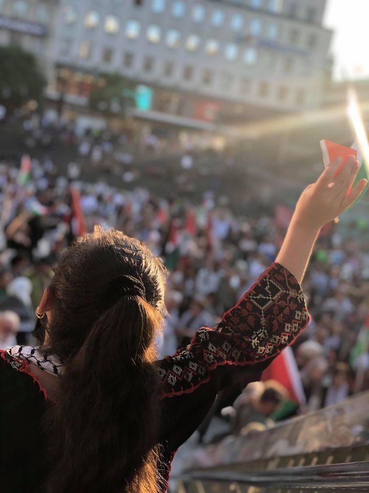 Delta i Palestinagruppernas solidaritet!