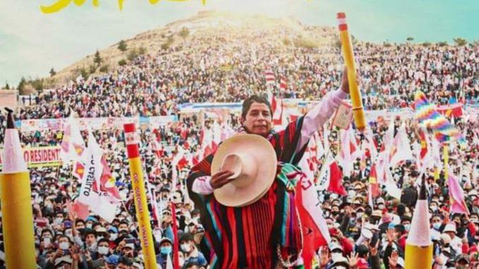 Historisk vänsterframgång i Peru!