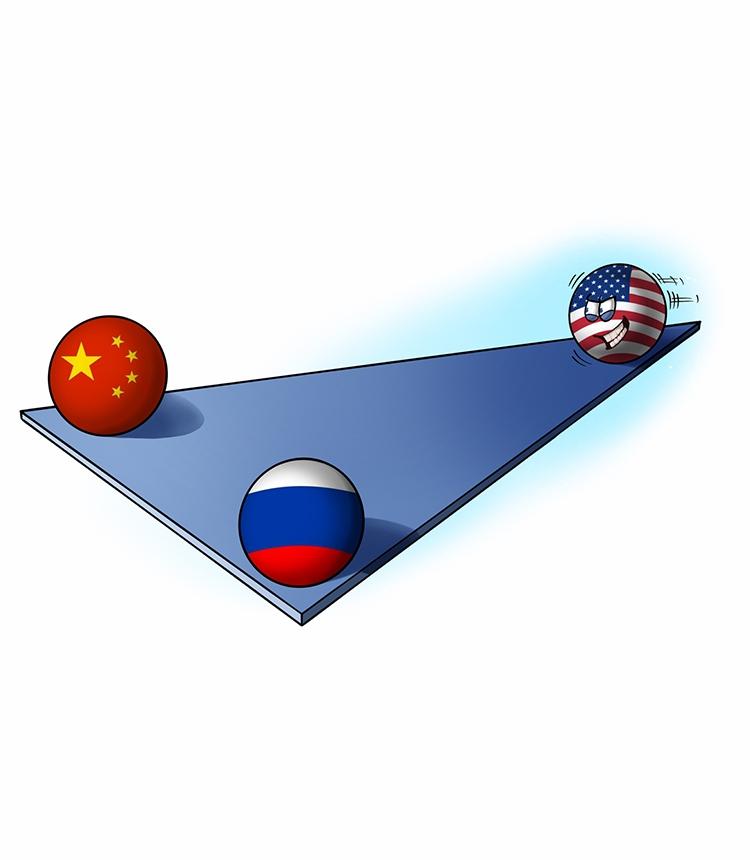 Bidens förödmjukande sätt att försöka skada relationerna mellan Kina och Ryssland