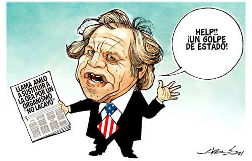 "Mexikos president: Lägg ned ""USA:s Kolonialministerium"", OAS!"