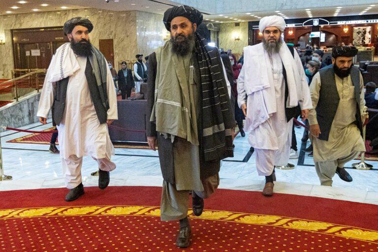 Hälsa Diplomat-Talibanerna välkomna!