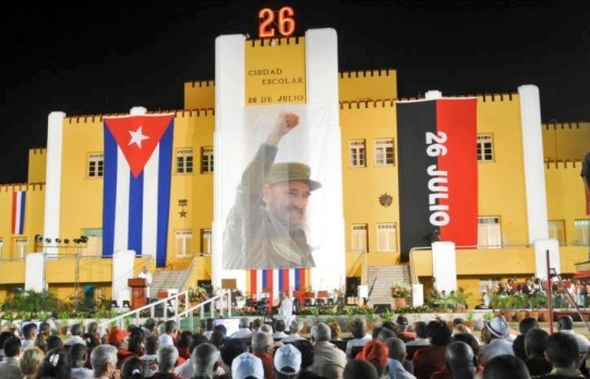 Fira Kubas Moncadadag – revolutionens start! 26 juli!