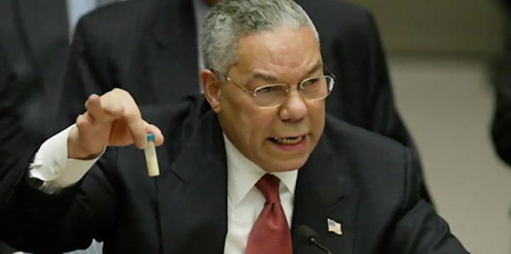 Colin Powell, etablissemangets favorit kritiseras av en landsman. Varför det då?